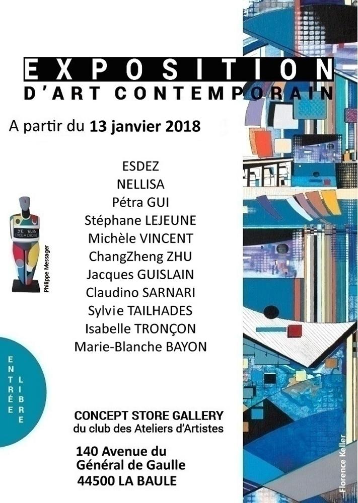 Exposition Concept Store Gallery - La Baule