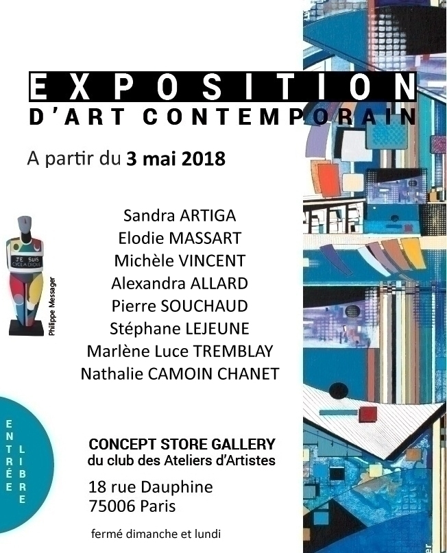 Exposition Concept Store Gallery - Paris
